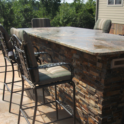 outdoor dining outdoor dining granite table outdoor kitchen space